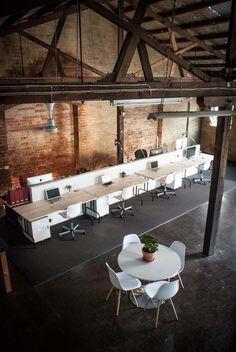 studio, creative space, desk space, warehouse