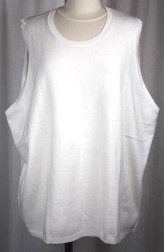 Land's End Womens White Sleeveless Sweater Shell Size 5XL NWT #LandsEnd #Shell #Versatile