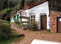 J.R.R Tolkiens inspiration: Kinver Edge, Staffordshire, United Kingdom
