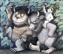 mosters - where the wild things are book illustration