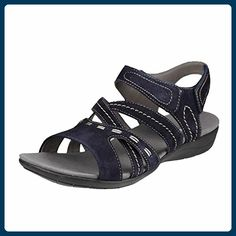 Romika Tahiti 04 47104-32-505 Größe 42 Blau (dunkelblau) - Sandalen für frauen (*Partner-Link)