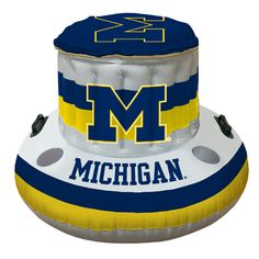 Sports Fans Gifts - Michigan Wolverines NCAA Beach/Pool Inflaitable Floating Cooler 49x20, $31.95 (http://www.sportsfansgifts.com/Michigan-Wolverines-NCAA-Beach/Pool-Inflaitable-Floating-Cooler-49x20/)