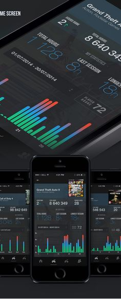 HOURS Gaming app on Behance