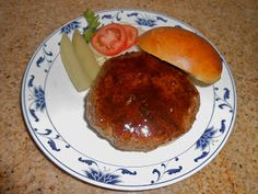 Chef JD's Southwestern Cuisine: Provolone Stuffed Black Angus Burger glazed with H...
