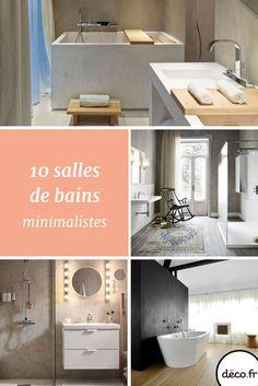 10 Salles De Bains Minimalistes
