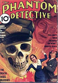 """Pulp magazines (often referred to as """"the pulps""""), also collectively known as pulp fiction, refers to inexpensive fiction magazines published from 1896 through the 1950s. The typical pulp magazine was seven inches wide by ten inches high, half an inch thick, and 128 pages long. Pulps were printed on cheap paper with ragged, untrimmed edges."""