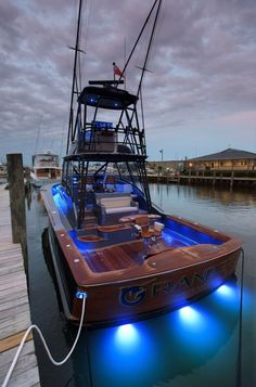 """""""Grander"""" is a truly custom express sportfish boat from Jarrett Bay Boatworks with a bold design that assaults offshore fishing's status quo. Yacht Design, Boat Design, Cool Boats, Small Boats, Speed Boats, Power Boats, Jet Ski, Sport Fishing Boats, Bass Fishing"""
