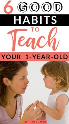 6 Good Habits You Should Be Teaching Your Toddler Early On - Just Simply Mom - It's important to teach your child good habits, including manners, sharing, and caring for others - Parenting Toddlers, Parenting Advice, Toddler Activities, Learning Activities, Family Activities, Teaching Empathy, Teaching Kids, Baby Care Tips, Baby Tips