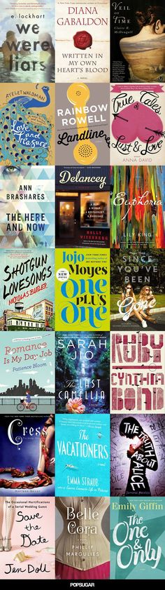 125 of the Year's Best Books (So Far)  Book club: The Vacationers, The One and Only