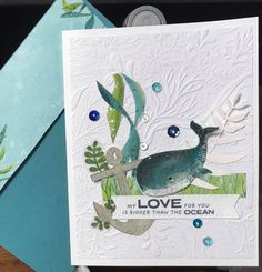 Z Cards, Kids Cards, Nautical Cards, Beach Cards, Card Making Tips, Masculine Birthday Cards, Stampin Up Catalog, Stamping Up Cards, Animal Cards