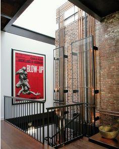 Vintage Industrial en el Soho de NY | Etxekodeco