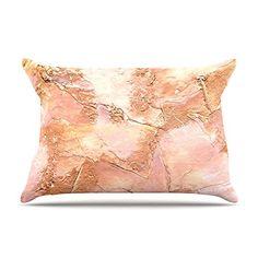 "Kess InHouse Rosie Brown ""Bronze It"" Orange Paint Fleece Pillow Case, 30 x 20"" Kess InHouse http://www.amazon.com/dp/B00Z0LC0E8/ref=cm_sw_r_pi_dp_jdkTwb1MMG34R"