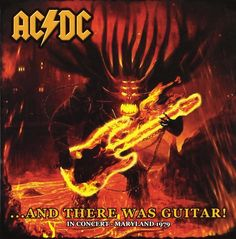 AC/DC ... And There Was Guitar! CD  #OneAsiaAllEntertainment #852Entertainment