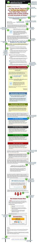 GORGEOUS SQUEEZE PAGE DESIGNS! UNIQUE TEMPLATES! List Building - technical skills list