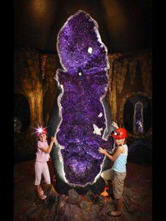 Worlds Largest Amethyst Geode