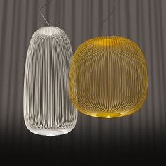 Foscarini Spokes 2 riippuvalaisin, valkoinen | Riippuvalaisimet | Valaisimet | Finnish Design Shop