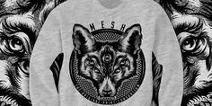 """NOCTURNAL SYMMETRY"" t-shirt design by Ashley"