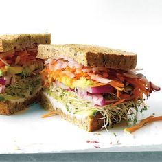 California Veggie Sandwich Recipe - Delish.com