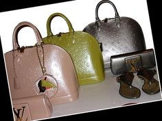 My Fashion Juice » Louis Vuitton Cruise 2010 Vernis Alma Bags