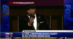 Did you watch the 2014 Grammys? LL Cool J gave Bucks County, Pink's hometown, a shout out during his opening speech.