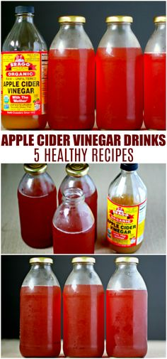 Looking for ways to improve your health? Apple cider vinegar drinks are a great way to get your daily dose of ACV with ease. Apple Cider Vinegar Daily, Apple Cider Drink, Organic Apple Cider Vinegar, Fruit Drinks, Smoothie Drinks, Healthy Drinks, Acv Drinks, Vegan Smoothies, Beverages