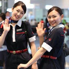 Japan Airlines (JAL) Flight Crew   Stewardess