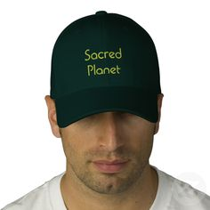 SACRED PLANET Eco Supporter Embroidered Hat