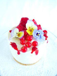 Cheesecake aux fruits rouges, version rapide. - Quatre Saisons Au Jardin