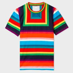 08667443f138 Men's Designer T-Shirts | Printed, Plain, & Long Sleeve. Paul SmithStripes  ...