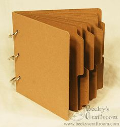 """My custom mini album, all 5-1/5""""h by 5-3/4""""w, great for using with 6x6 paper pads!"""