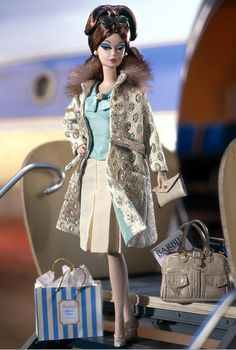 Continental Holiday Barbie