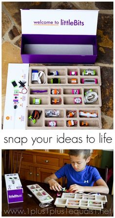 littleBits ~ amazing electronics kit, open ended learning for kids ages 8 and up! Review and giveaway {ends 6.6.15}