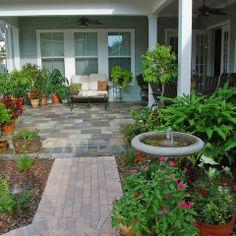 Intimate Cottage Garden...