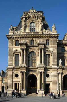 The Second Empire style in the Louvre palace renovated for Napoleon III