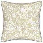 Maracanda Decorative Pillow-Chalk