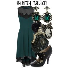"""""""Haunted Mansion"""" by evil-laugh on Polyvore"""
