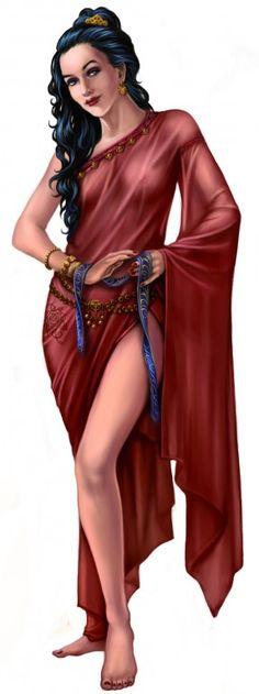 Die Rahjageweihte vom Kult der Roten Schwester - Ein neuer Charakter für die Tulamidischen Reiter