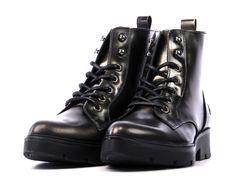 Zilveren Bronx Booties | 44146