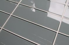 Chimney Smoke Gray 4x12 Glass Subway Tiles