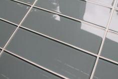 Chimney Smoke Gray 4x12 Glass Subway Tiles
