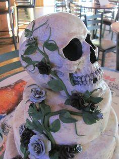 Skull Cake, Bone Cake Design With A Friend