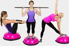 Hedstrom Fitness will donate 15 of the retail sales price from each pink BOSU® Balance Trainer purchased online, with a minimum guaranteed donation of 25,000.  #BOSU #HedstromPlastics #SusanGKomen