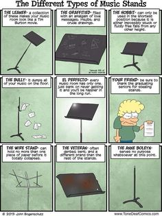The truth about every single one of these I remember this shit from orchestra