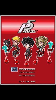 Persona 5: The IOS Version (not mine)