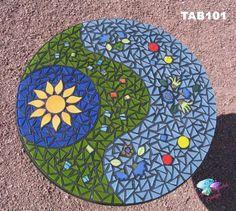 Mosaic tables                                                                                                                                                      Más