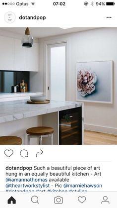 Wine fridge under Island bench Kitchen Pantry Design, Kitchen Art, Kitchen Interior, Kitchen Dining, Furniture Sale, Upcycled Furniture, Discount Furniture, Kitchen Furniture, Kitchen Island Bench