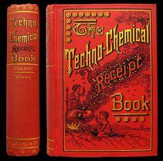 1892 RECIPES GUNPOWDER FIREWORKS BEER WINE PERFUMERY SOAP MEDICINE TOBACCO RARE