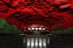 Stockholm Metro Station Art-12