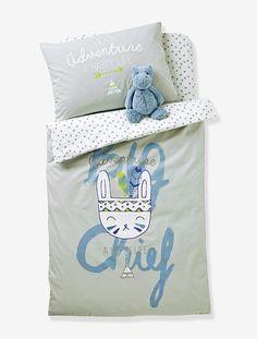 Drap-housse bébé Happy Tipis* ecru imprimé - Belle qualité pour ce drap-housse qui s'adapte parfaitement au matelas de bébé !  DIMENSIONS : 60 x 120 cm et 70 x 140 cm.  Coinsélastiqués. Imprim