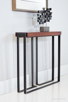 Console Tables by Charleston Forge. Made in USA.  Quality Furniture Hand forged.  #MadeinUSA #americanmade #furniture #interiordesign